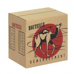 Carton déménagement 12 bouteilles