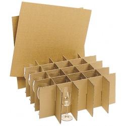 croisillions cartons verres